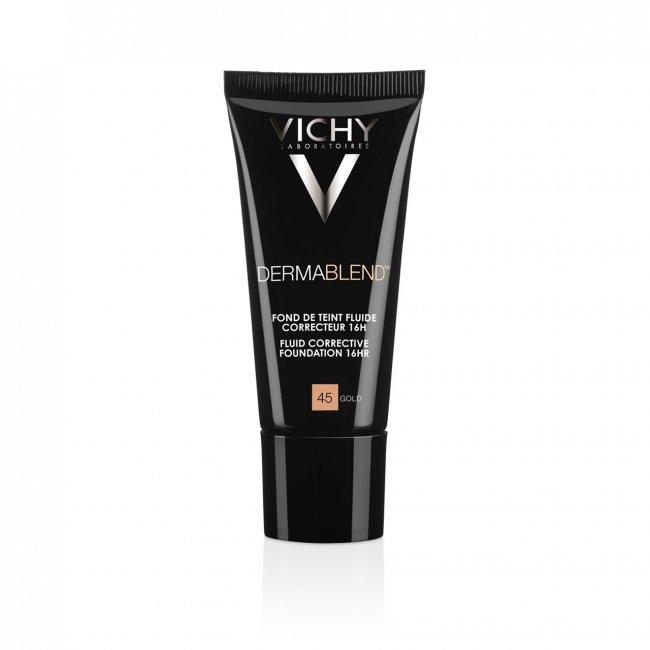 Vichy Dermablend Fluid Corrective Foundation 16h 45 Gold 30ml