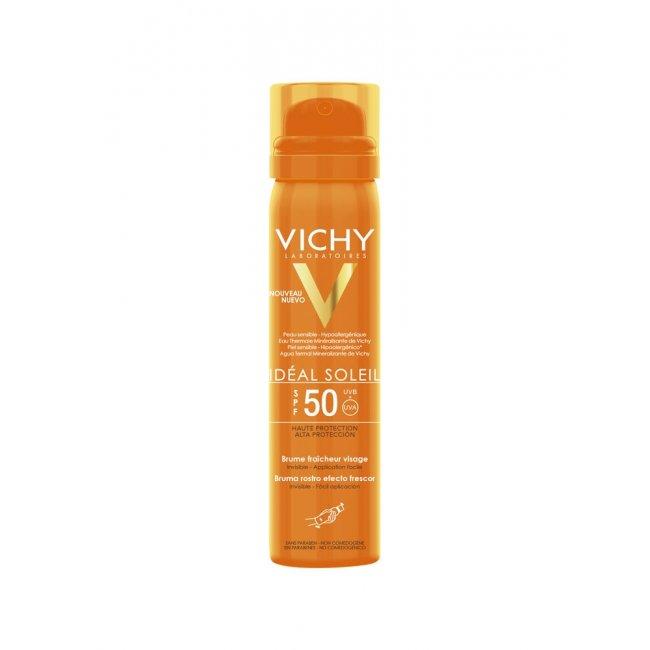 Vichy Idéal Soleil Bruma Hidratante Invisível FPS50 75ml