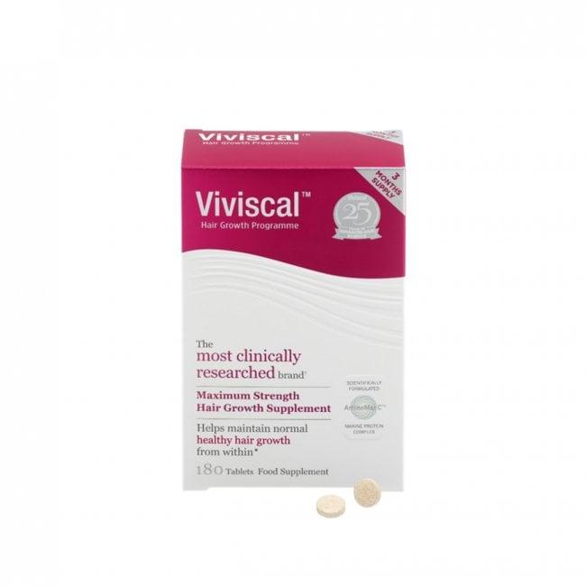 Viviscal Maximum Strength Hair Supplement Tablets x180