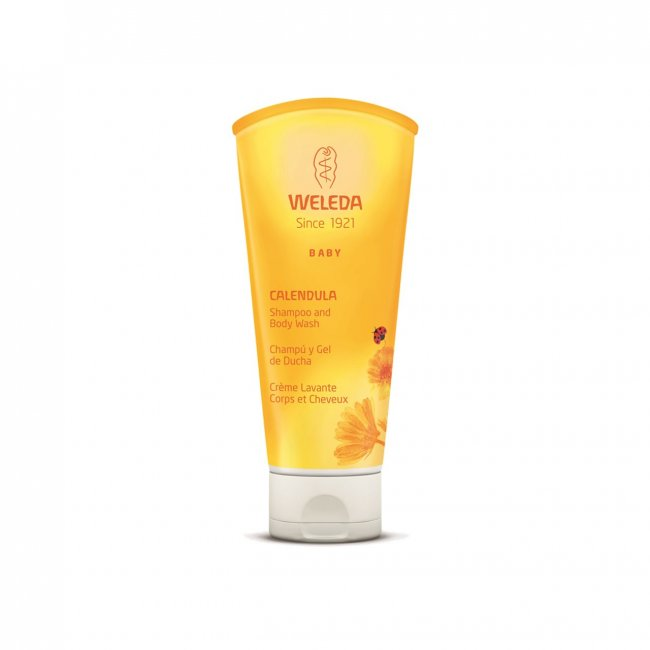 Weleda Calendula Baby Shampoo & Body Wash 200ml