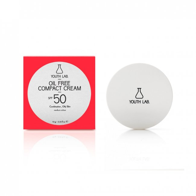 YOUTH LAB Oil Free Compact Cream Medium SPF50 10g