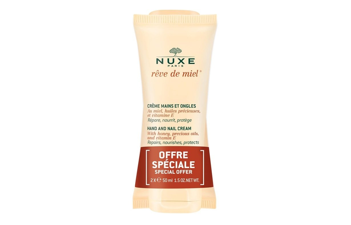 PROMOTIONAL PACK: NUXE Rêve de Miel Hand and Nail Cream 50ml x2