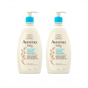 PROMOTIONAL PACK: Aveeno Baby Daily Care Hair & Body Wash 300ml x2