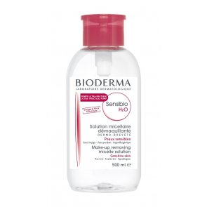 Bioderma Sensibio H2O Make-Up Removing Micelle Solution w/ Pump 500ml