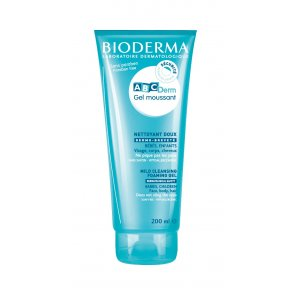 Bioderma ABCDerm Gel Moussant Mild Cleansing Foaming Gel 200ml