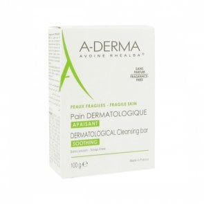 a-derma-dermatological-bar-cleanses-soothing-fragrance-free-100g