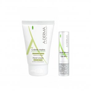 PROMOTIONAL PACK: A-Derma Intense Repair Hand Cream 50ml + Lip Stick 4g