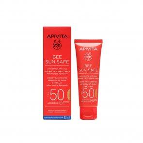 APIVITA Bee Sun Safe Anti-Spot & Anti-Age Tinted Face Cream SPF50 50ml