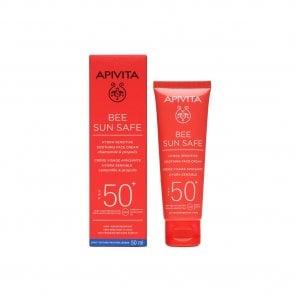 APIVITA Bee Sun Safe Hydra Sensitive Soothing Face Cream SPF50+ 50ml