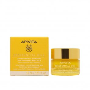 APIVITA Beessential Oils Strengthening & Nourishing Night Balm 15ml