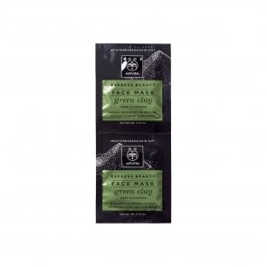 APIVITA Express Beauty Face Mask Green Clay 2x8ml