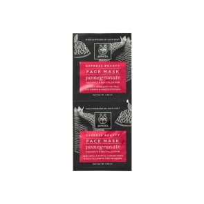 APIVITA Express Beauty Face Mask Pomegranate 2x8ml