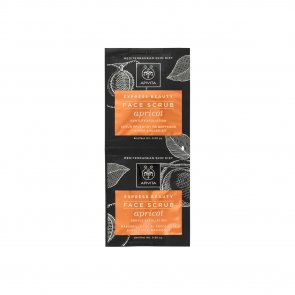 APIVITA Express Beauty Face Scrub Apricot 2x8ml