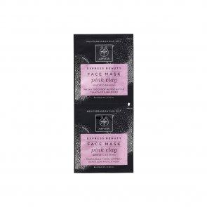 APIVITA Express Beauty Face Mask Pink Clay 2x8ml