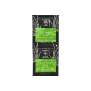 APIVITA Express Beauty Face Mask Aloe 2x8ml