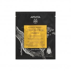 APIVITA Express Beauty Tissue Face Mask Mastic 15ml