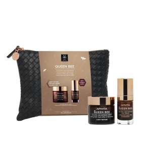 GIFT SET: APIVITA Queen Bee Holistic Age Defense Light Cream Coffret 2019