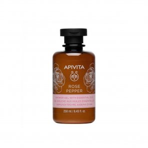 APIVITA Rose Pepper Shower Gel With Essential Oils 250ml