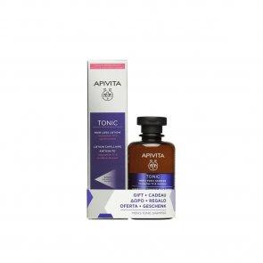 PROMOTIONAL PACK: APIVITA Tonic Hair Loss Lotion 150ml + Men's Tonic Shampoo 250ml