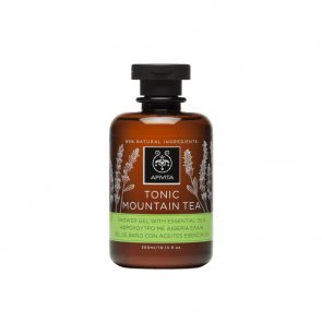 APIVITA Tonic Mountain Tea Shower Gel Essential Oils 300ml