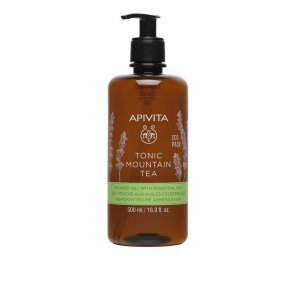 APIVITA Tonic Mountain Tea Shower Gel Essential Oils 500ml