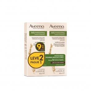 PACK PROMOCIONAL: Aveeno Daily Moisturising Hydrating Cream 100ml x2