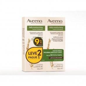 PROMOTIONAL PACK: Aveeno Daily Moisturising Hydrating Cream 100ml x2