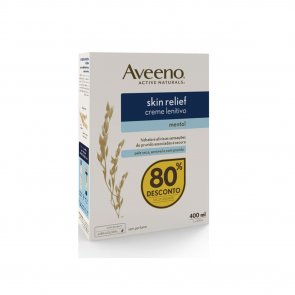 PACK PROMOCIONAL: Aveeno Skin Relief Soothing Lotion with Menthol 200ml x2