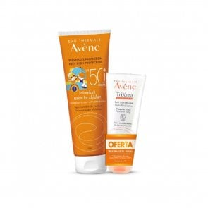 PACK PROMOCIONAL: Avène Sun Lotion Children SPF50+ 250ml + TriXera Lotion 100ml