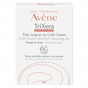 Avène TriXera Nutrition Cold Cream Ultra-Rich Cleansing Bar 100g