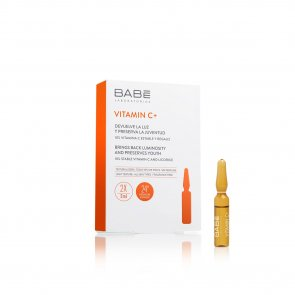 Babé Vitamin C+ Radiance & Smoothing Ampoules x2