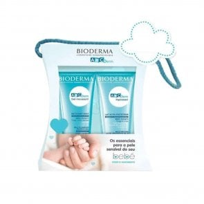 PROMOTIONAL PACK: Bioderma ABCDerm Moussant Gel + Moisturizing Milk Pack