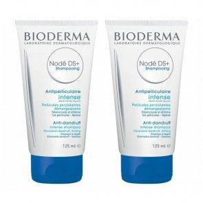 PROMOTIONAL PACK: Bioderma Nodé DS+ Shampooing Anti-Dandruff Intense Shampoo 125ml x2