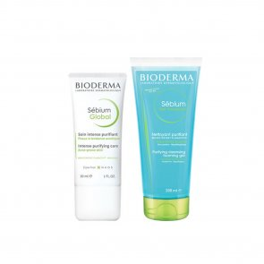 PROMOTIONAL PACK: Bioderma Sébium Global 30ml + Bioderma Sébium Gel Moussant 200ml