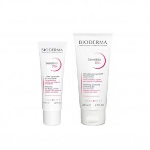 PROMOTIONAL PACK: Bioderma Sensibio DS+ Soothing Cream 40ml + Cleansing Gel 200ml