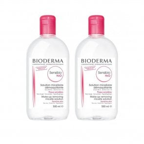 PROMOTIONAL PACK: Bioderma Sensibio H2O Make-Up Removing Micelle Solution 500ml x2