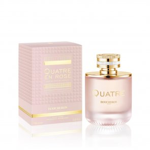 Boucheron Quatre En Rose Eau de Parfum Florale for Women 100ml