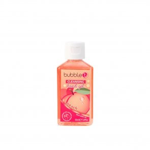 Bubble T Hand Cleansing Gel Peach 50ml