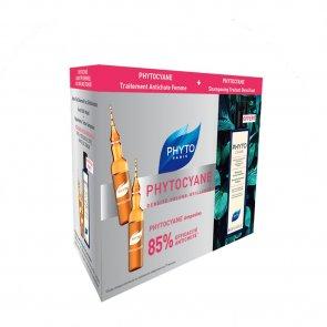 PROMOTIONAL PACK: PHYTOCYANE Revitalizing Serum 12ampx7,5ml + Shampoo 200ml