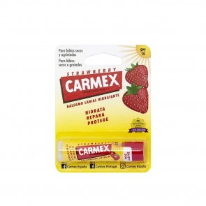 Carmex Moisturizing Lip Balm Strawberry SPF15 4.25g