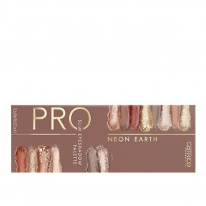 Catrice Pro Neon Earth Slim Eyeshadow Palette 010 Elements Of Power