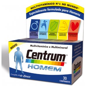 Centrum Men Supplement Tablets x30
