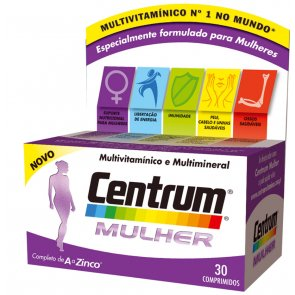 Centrum Women Supplement Tablets x30