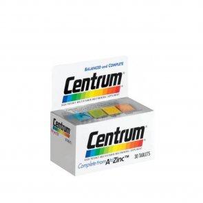 Centrum Multivitaminico e Multimineral 30 Comprimidos