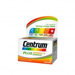 Centrum Plus Ginseng & Ginkgo Tablets x30