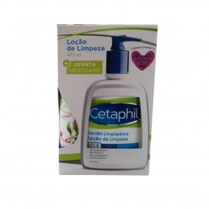 PACK PROMOCIONAL: Cetaphil Gentle Skin Cleanser Dry & Sensitive Skin 473ml + Necessaire