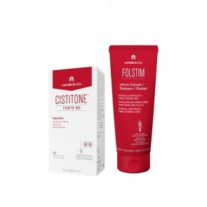 PROMOTIONAL PACK: Cistitone Forte BD Capsules x60 + Folstim pHysio Shampoo 200ml