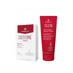 PROMOTIONAL PACK: Cistitone Forte Capsules x60 + Folstim pHysio Shampoo 200ml