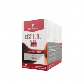 PROMOTIONAL PACK: Cistitone Forte Hair and Nails Capsules 60x3