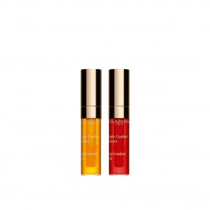 TRAVEL SIZE: Clarins Pick & Love Lip Comfort Oil Duo 2x2.8ml